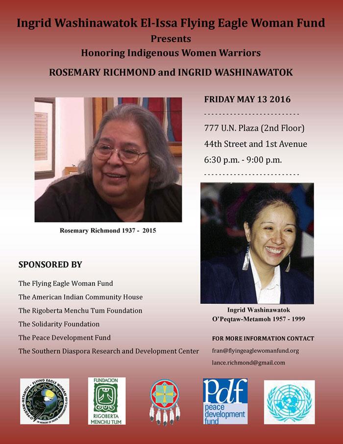 Honoring Indigenous Women Warriors